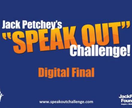 Jack Petchy Speak Out Challenge