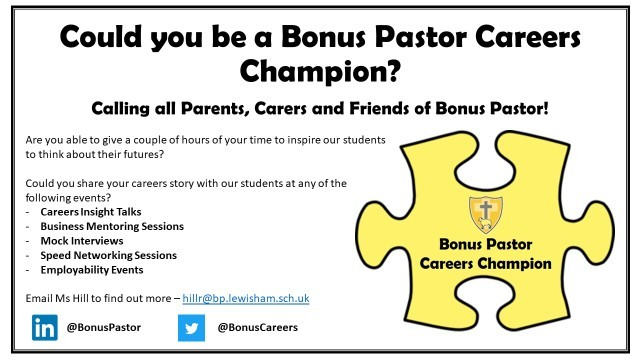 Could you be a careers champion