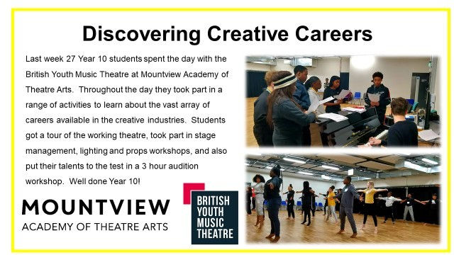 Discovering creative careers