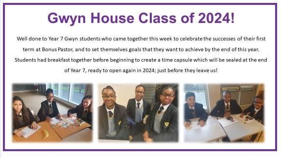 Gwyn house class of 2024