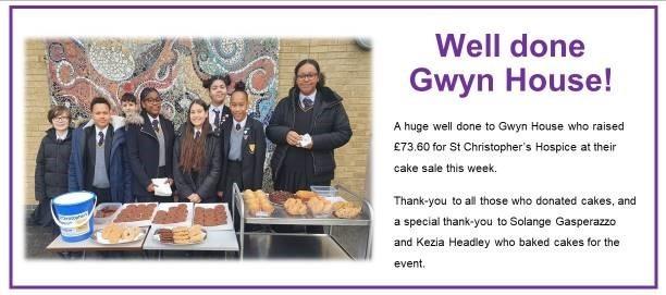 Gwyn house fundraising