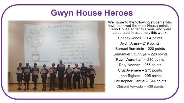 Gwyn house heros