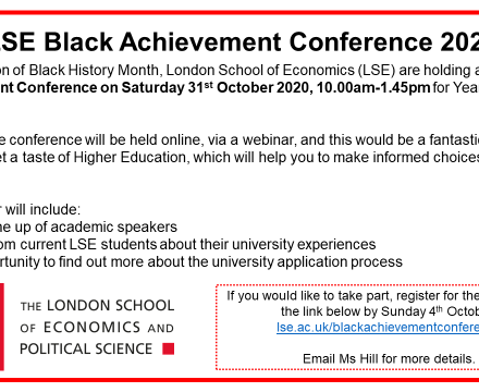 LSE Black Achievement Conference