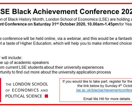 LSE Black Achievement Conference