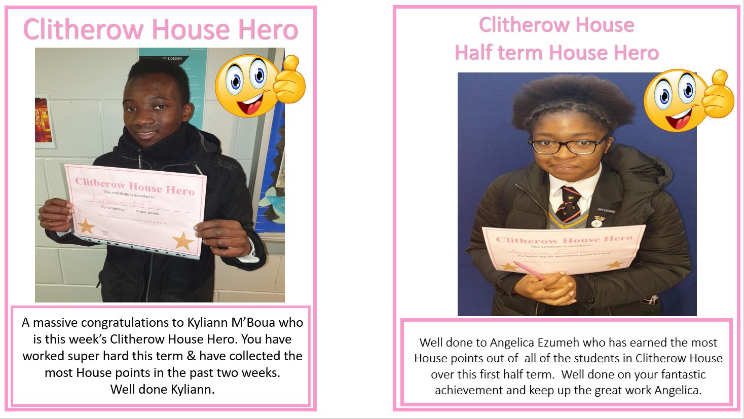 Clitherow House Hero's