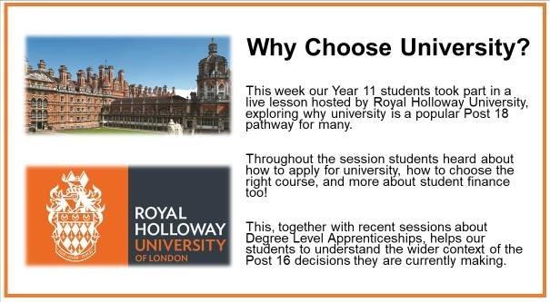 Why Chose University