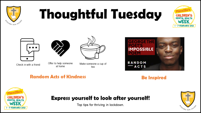 Thoughtful Tuesday