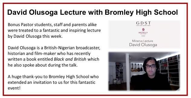 David Olusoga Lecture