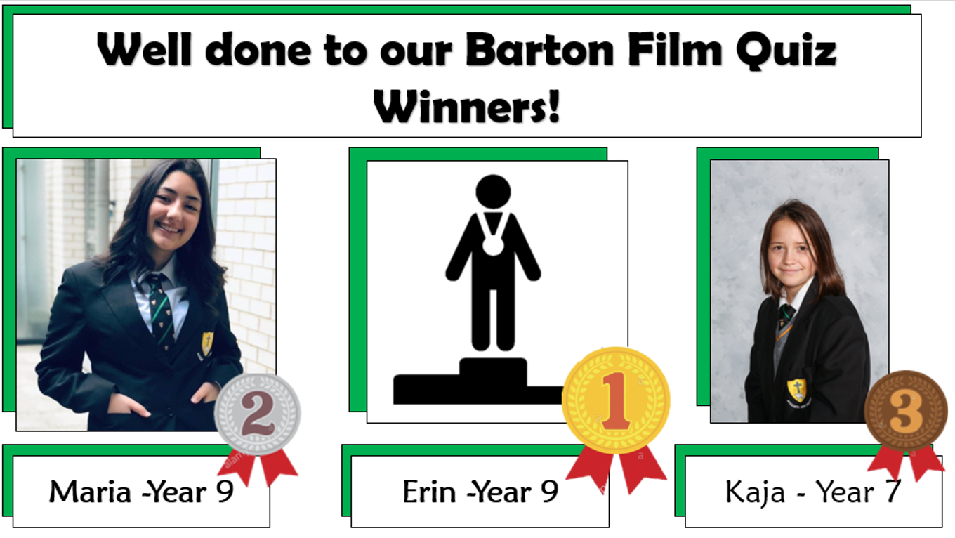 Barton Film Quiz