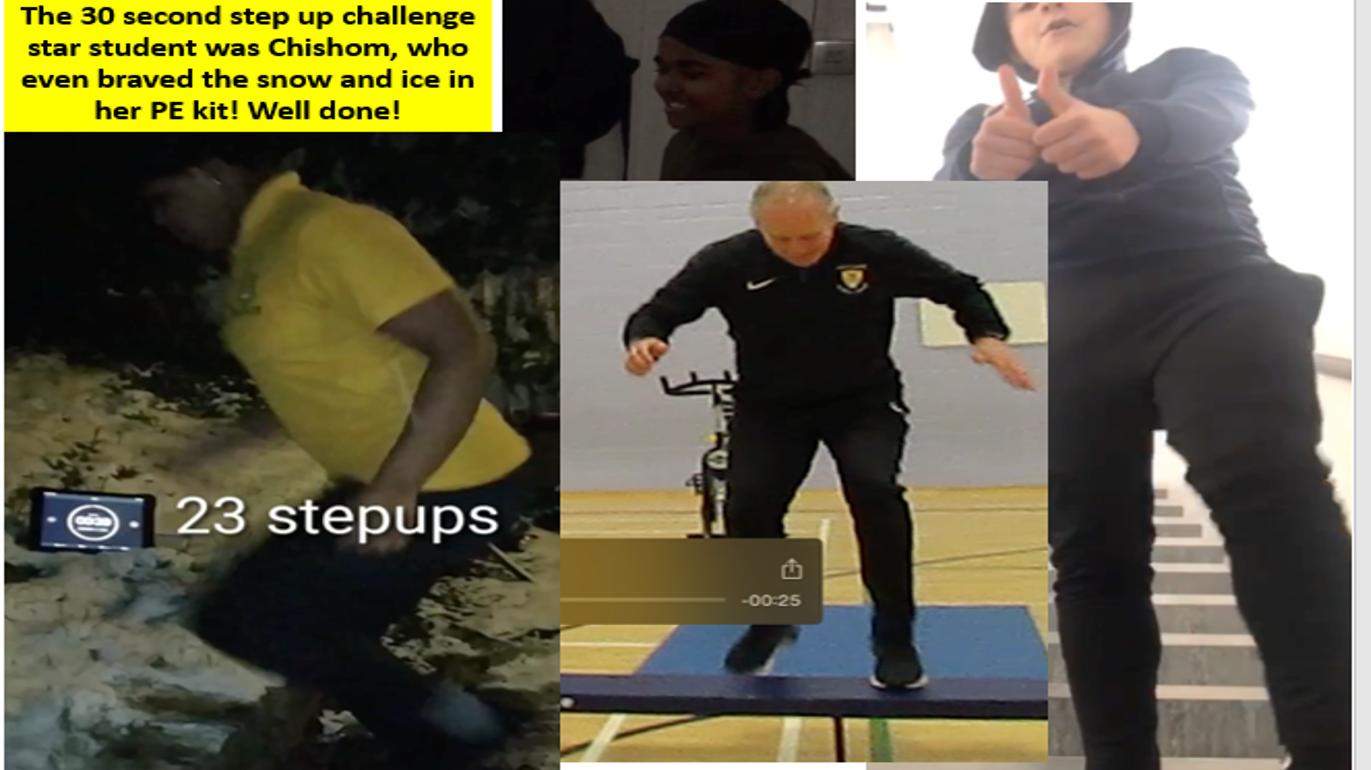 Step Up Challenge 1