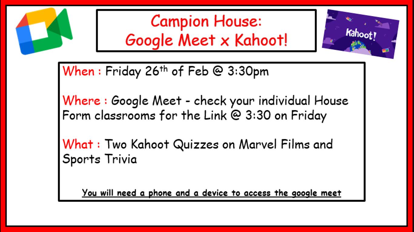Campion Meet