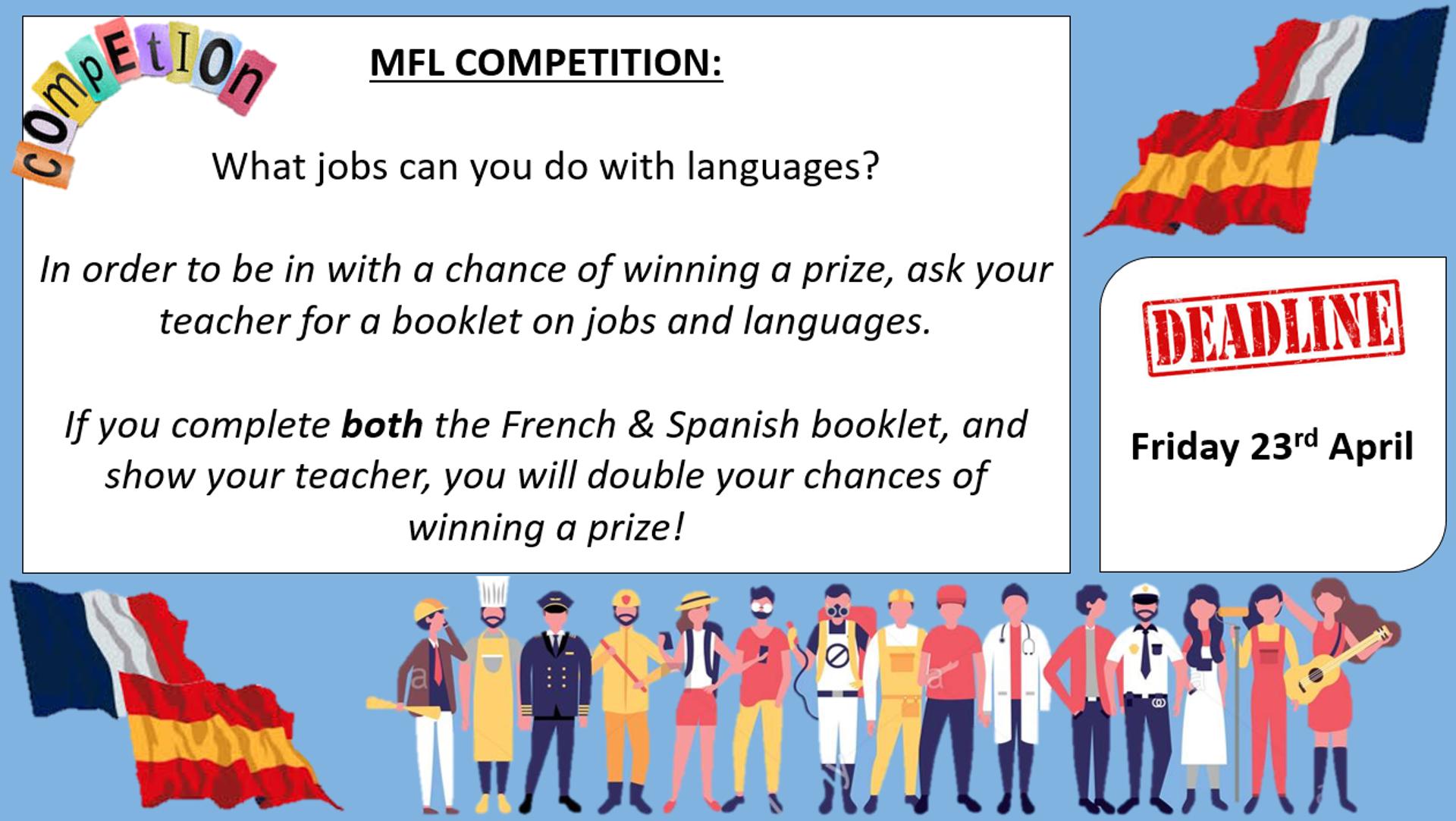 Lanuage Jobs Competition