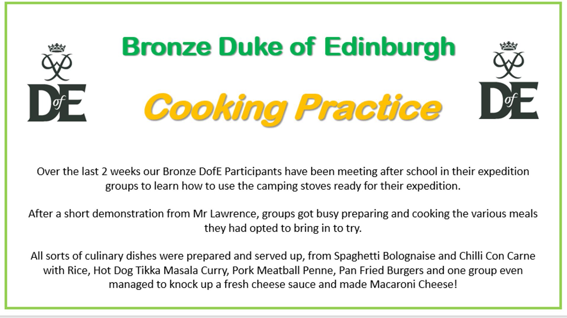 Cooking Practice 1