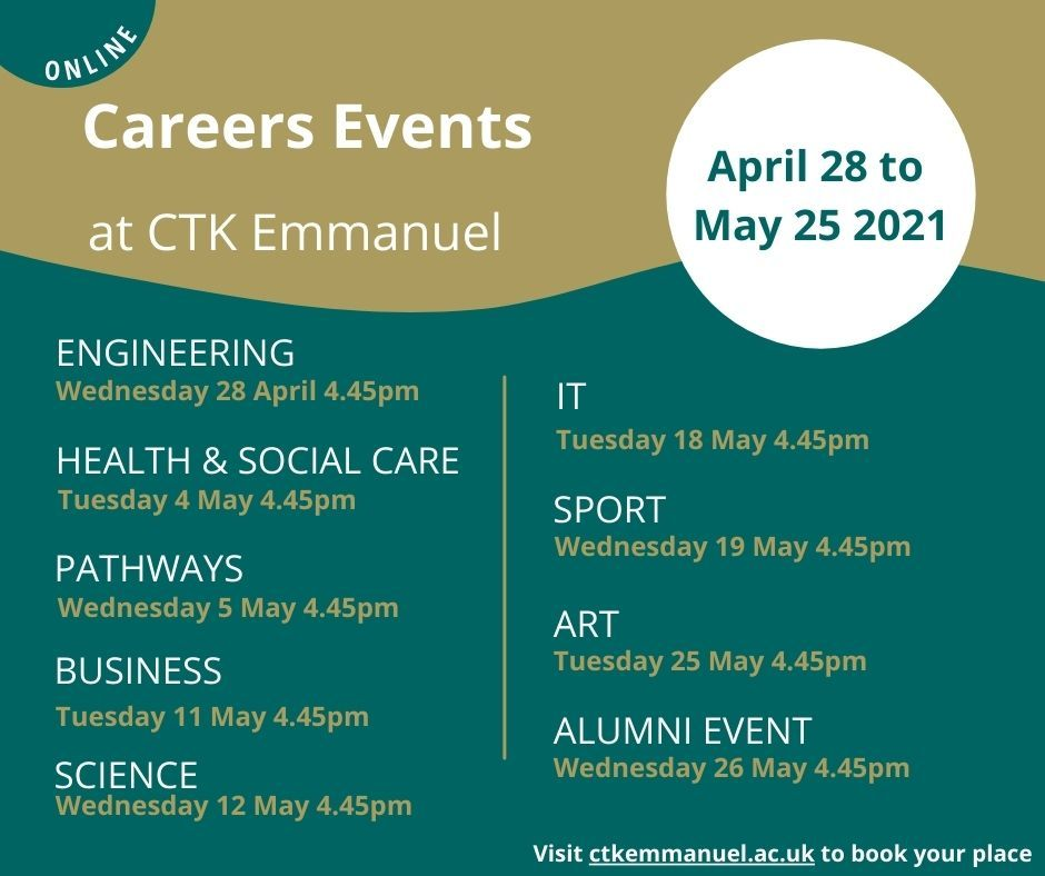 Careers Events at CTK