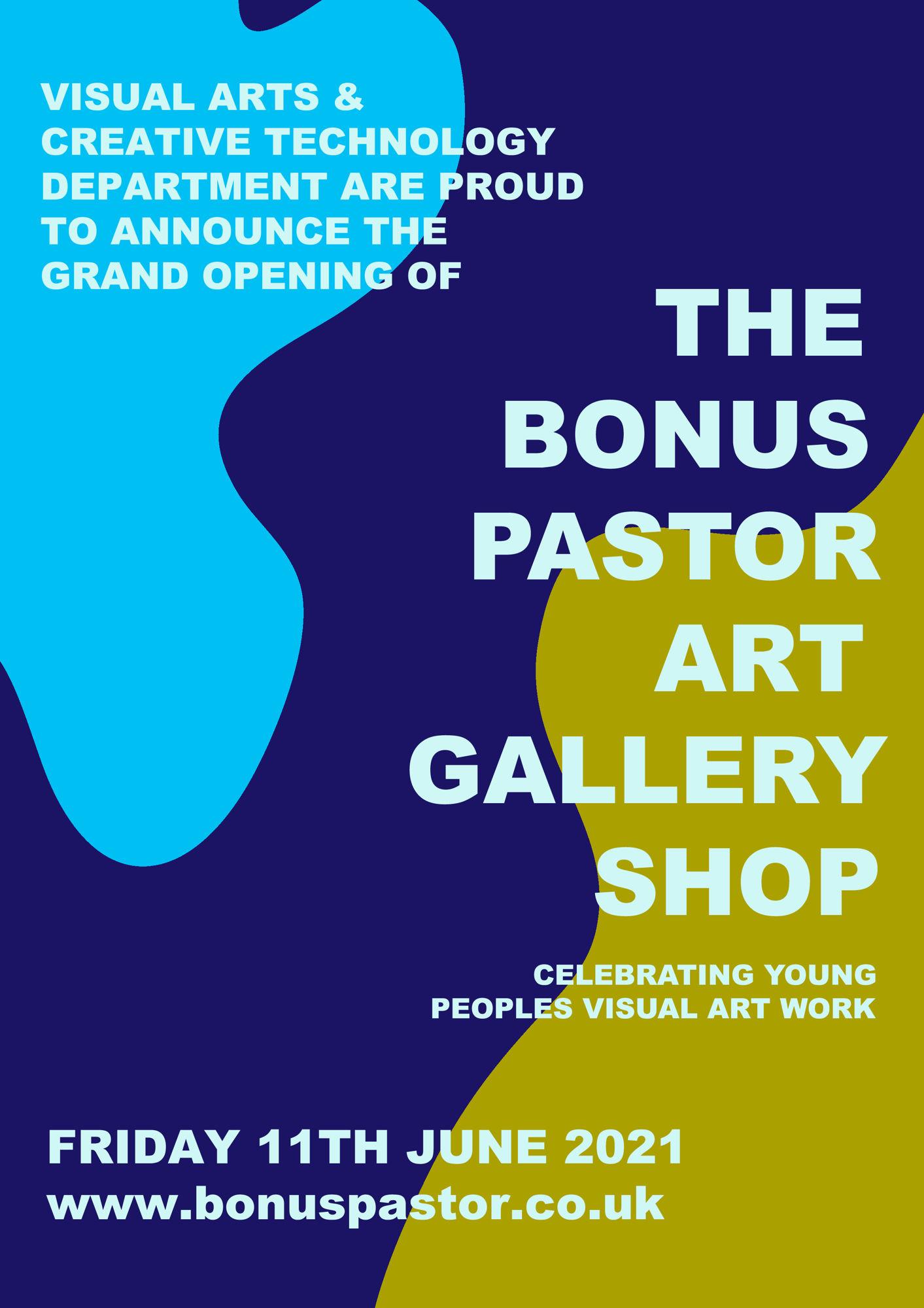 THE BONUS PASTOR ART GALLERY SHOP
