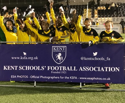 Year 7 Kent Cup Champions