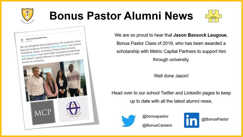 Jason Bassock Alumni News