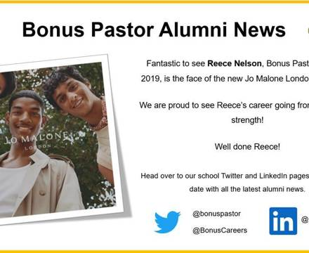 Reece Nelson Alumni News