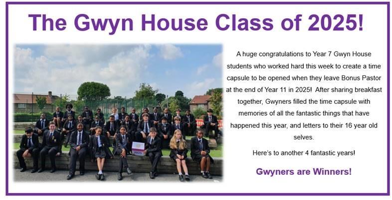 Gwyn Class of 2025