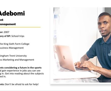 Alumni tobi adebomi